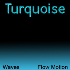 Turquoise for Waves Flow Motion