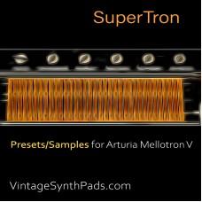 SuperTron For Arturia Mellotron V